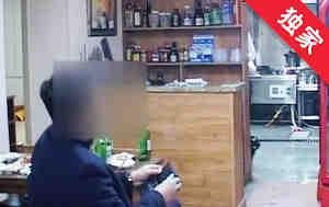 【视频】男子吃饭没带现金 老板无奈报警