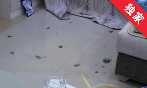 【视频】夫妻琐事闹矛盾 妻子被打报警