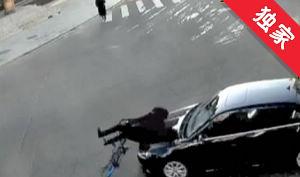 【视频】十字路口危险多 稍不留神出事故