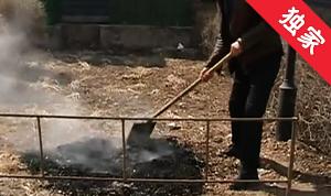 【視頻】小區物業燒雜草 污染空氣應杜絕