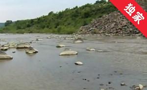 【视频】农田被河水冲刷 村民希望修河堤