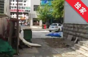 【視頻】廢舊牌匾占路多年 影響出行存在安全隱患