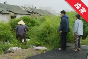 【視頻】雨水排入田地 村民生產受影響