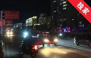【視頻】路燈不亮影響出行 維修單位搶修恢復