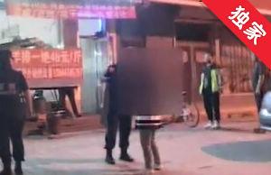 【視頻】夫妻在大街上吵架 路人報警