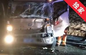 【视频】货车司机被困 安图消防及时救援