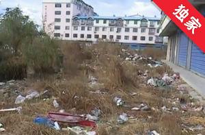 【视频】小区楼下垃圾成堆 居民生活受影响