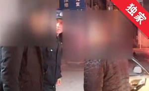 【视频】司乘琐事起冲突 出租车司机报警