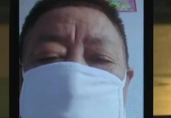 【视频】古稀老人捐款 为防疫献爱心