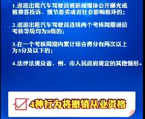【微视频】@延吉出租车司机:这些行为将被暂停营运、撤销从业资格!