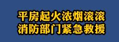 【微視頻】平房起火濃煙滾滾 消防部門緊急救援