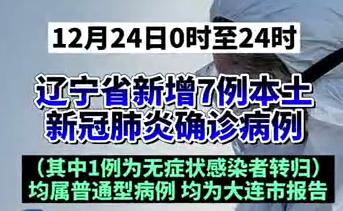 【微视频】最新消息!辽宁新增7例本土确诊