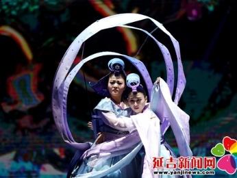 大型原创阿里郎秀《沈清传》首演拉开帷幕