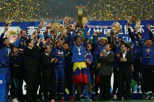 申花时隔19年再捧足协杯 挤掉华夏晋级亚冠正赛