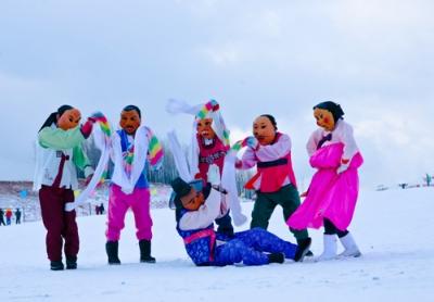 龙井海兰江滑雪场