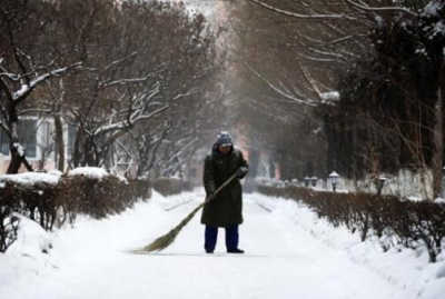 雪后气温略降 注意添衣防滑