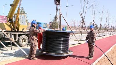 延边大学珲春校区新增架设4.8千米专用电路