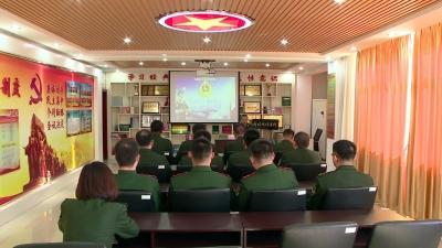 """珲春边防""""新时代传习所""""深入学习宪法修订案"""