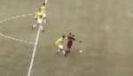 【视频】补时扎伊尔禁区内被推倒没点球?
