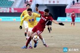 扎伊尔失良机 延边富德0-0上海申鑫(组图)