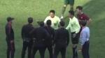 韩青松的进球硬是被裁判吹了出来