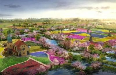 图们市长安镇富岩村田园综合体项目建设有序推进