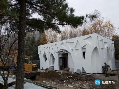 敦化市新建和改造升级城区9座公厕