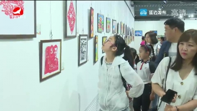 延边第二届儿童美术节优秀作品展开展