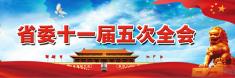 【专题】省委十一届五次全会