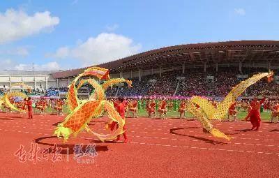 延边州第21届运动会开幕