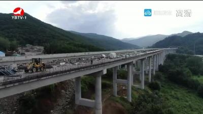 龙浦高速项目已完成计划投资额的67%