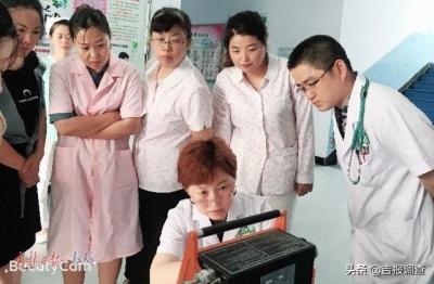 """珲春市人民医院吴顺子,她是一位敢和死神""""掰手腕""""的白衣天使"""