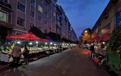 延吉市延河市场夜市计划下周搬回到原址