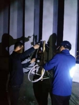 延吉市文广旅局会同州工信局开展打击非法广播电台 净化声频环境联合执法行动