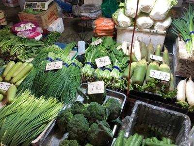 受降雨影响,延吉蔬菜价格上涨