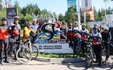 延边?韦特恩帽儿山山地自行车运动公园标志牌揭牌仪式在延吉举行