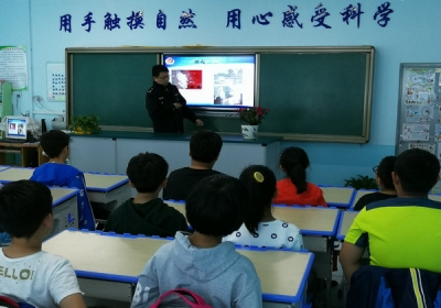 延吉市进学小学开展禁毒知识讲座活动
