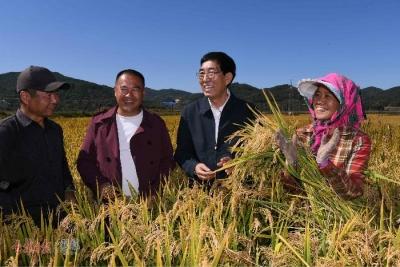 中國農民豐收節,吉林綠水青山又添新底色……