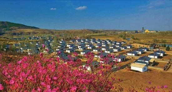 和龙市金达莱村高分通过美丽乡村标准化试点验收