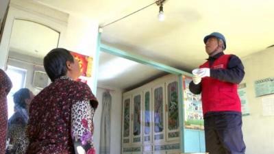 国网珲春供电党员驻村服务队积极开展扶贫助困活动