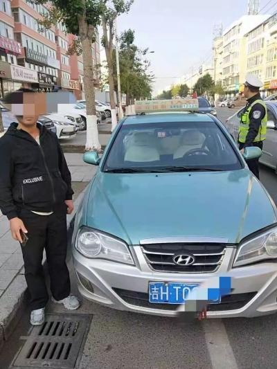 【曝光台】延吉一出租车司机酒后驾车被查 罚5000元拘留15天