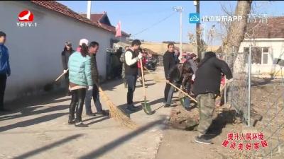 龙井市老头沟镇下大力气开展环境整治工作