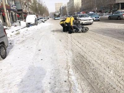 受到降雪天气影响 延吉市发生各类交通事故76起
