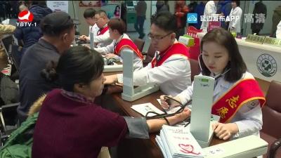 延边大学附属医院开展心梗防治宣传义诊活动