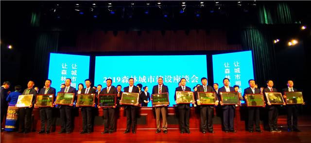 好消息!敦化市被国家林业局授予国家森林城市称号