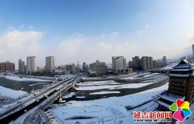【组图】瑞雪兆丰年 延吉迎来今冬第一场大雪