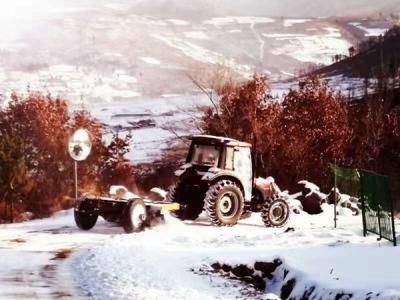 和龙兴和公路养护公司加强农村公路行车安全隐患排查