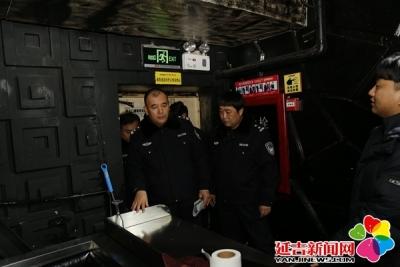延吉公安开展旅馆业和娱乐场所安全隐患大检查