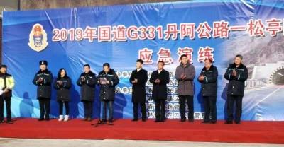 珲春市公路管理段成功举办隧道救援应急演练