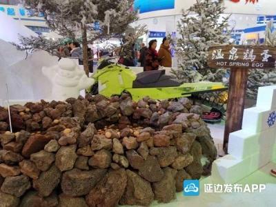 快讯|雪博会上长白山展台备受关注